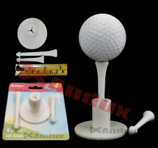 "Andux Professional Golf Tee Holder + 2 Plastic Tees 1 3/4 ""+ 2 3/4"" T + T"