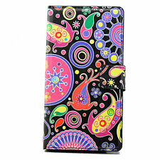 Flip Stand Leather Wallet Cover Case For Apple iPhone 4S 5S LG G2 G2 Mini Sony
