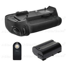 Battery Grip for Nikon D800 D810 MB-D12 + EN-EL15 Battery + Universal Remote