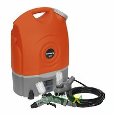 Portable Rechargeable 12V Pressure Washer Sprayer 123PSI SEALEY - PW1712