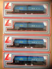 4 LIMA OO Gauge 2911 MILK DOUBLE BOGIE TANK WAGONS. Suit Hornby Triang Etc.