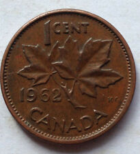 Canada 1 cent 1962 coin