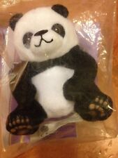 "☀️ Fur Real Friends PANDA CUB BEAR 4"" Toy McDonald's Cake Topper Plush Stuffed"