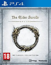 The Elder Scrolls Online Tamriel Unlimited ~ PS4 ~ New & Sealed PS4 Tear Strip !