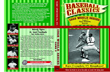 1968 World Series Game 5 TV broadcast at Tiger Stadium, Lolich vs Briles on DVD!