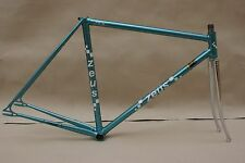 Vintage 80s Zeus Pista Spanish Track Frame and Fork. REFINISHED as NOS!! 50 cm