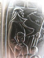 1+OZ.STERLING SILVER BOOKS OF THE BIBLE ZEPHANIAH ISRAEL UNITED MINTAGE 665+GOLD