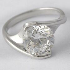 Womens White Gold Filled Clear CZ Wedding Engagement Ring Size 7 Fashion Jewelry