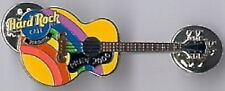 Hard Rock Cafe TORONTO 2000 GAY PRIDE PIN Rainbow on Guitar - HRC Catalog 10229