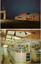 Emil's Steer Inn Drive-In Sandwich Shop and Restaurant Columbus OH Postcard