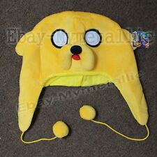 New Adventure Time With Finn & Jake Jake Warm Soft Hat Cap Cosplay #02