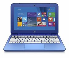 "HP Stream 11-d010wm 11.6"" Laptop Intel Celeron N2840 2.16GHz 2GB 32GB SSD Win8.1"