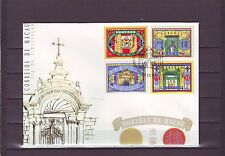MACAO/MACAU - SG1030-1033 GATEWAYS 1/3/98 FIRST DAY COVER - FDC