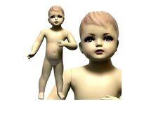 MN-034 Standing Toddler Baby Fleshtone Mannequin 2' 5''