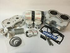 Banshee 421cc 4 mil Cheetah Cub Ported Cylinder Top End Cool Head Domes Pistons