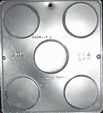 Plain Chocolate Circle / Disc Chocolate Candy Mold Candy Making  119 NEW
