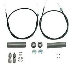54-64 Panhead Hydra-Glide Duo-Glide HANDLEBAR CONTROL CABLE KIT