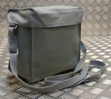 Original danés (Cd) ejército Vintage Gas Bolsa. side/shoulder/haversack X 10 Bolsas Nuevo