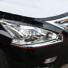 New Chrome Front Light Cover Trim Eyelid for Nissan Altima 2013 2014 2015