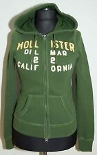 WOMENS HOLLISTER ZIP HOODY SIZE S M ( LABEL M) VGC