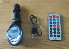 MP3 WIRELESS FM MODULATOR W/REMOTE FULLY ADJUSTABLE 4 IN 1  206 FM CHANNELS