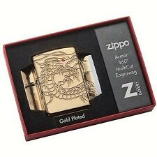 Heavy Wall Armor Case GOLD PLATE Multicut-ZIPPO Special Editions NEU+OVP