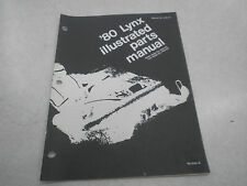 Arctic Cat 1980 Lynx Snowmobile Illustrated Parts Manual