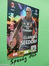 Adrenalyn 11 12 Seedorf Edición Limitada Panini Champions League cl 2012
