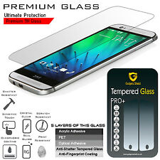 3 X Genuine Gadget Shield HTC One Mini 2 Tempered Glass Screen Protector Guard