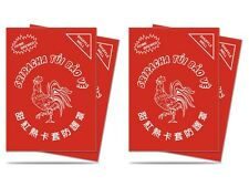 100 ULTRA PRO SRIRACHA DECK PROTECTORS Matte Art Sleeves MTG Lot 84640