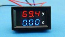 DC 300V/100A Ammeter Voltmeter Digital Amp Volt tester Meter Voltage 12V 24V CAR