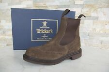 Tricker's Bottines Taille 7 40 Chelsea Boots Bottes Chaussures flint marron neuf
