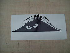 SCARY PEEKING MONSTER FUNNY,CAR,VAN,WINDOW,BOOT BUMPER PEEPER DECALS Sticker....