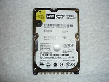 "Western Digital Scorpio Blue 40GB Internal 5400RPM 2.5"" 8MB (WD400VE-75HDT1) HDD"