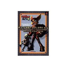 Ratchet & Clank 4 Ratchet: Deadlocked official final guide book/ PS2
