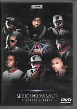 "DVD ALL ZONES--CONCERT--SEXION D'ASSAUT--L'APOGEE A BERCY 2012 ""FRENCH RAP"""