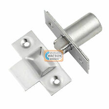 NICKEL Adjustable Roller Catch Mortice Door Spring Ball Latch with Strike Plate
