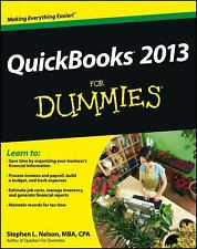 QuickBooks 2013 For Dummies, Nelson, Stephen L., Good Condition, Book