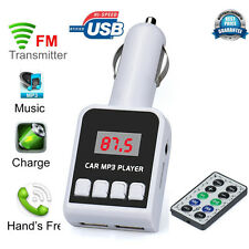 MP3 Player Wireless FM Transmitter Modulator Car Kit USB SD MMC LCD Remote Y1