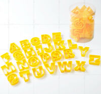26 Alphabet A-Z Plastic Cutters Biscuit, Cookie, Pastry Cutters Mold Mould