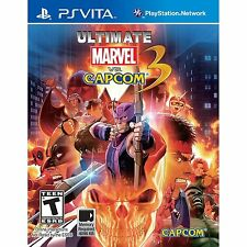 Ultimate Marvel vs. Capcom 3 [PlayStation Vita PSV Portable, Fighting Game] NEW