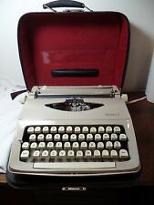 Vintage Royal Parade Typewriter with Case Made in Holland