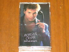 MORGAN CRYAR - KEEP NO SECRETS - RARE 1984 NEW STILL SEALED CASSETTE TAPE