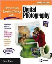 David Huss How to Do Everything with Digital Photography Very Good Book