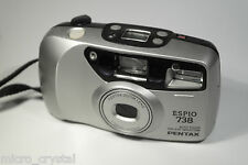 Vintage Pentax ESPIO 738 38-70mm point&shoot camera camara + pouch + battery