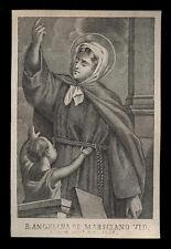 santino incisione 1800 B.ANGELINA DA MARSCIANO