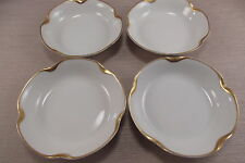 Haviland Limoges China SILVER ANNIVERSARY Fruit Bowls - Set of Four