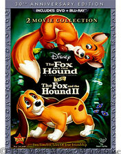 Disney The Fox and the Hound AND The Fox and the Hound II 2 DVD & Blu-ray Pack