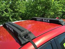 SOFT ROOF RACK:universal surfboard paddleboard ladder luggage snow ski car truck