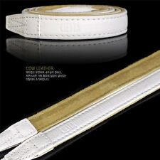 Ciesta L15 Leather Neck Strap White for DSLR Sony Fuji Canon Leica